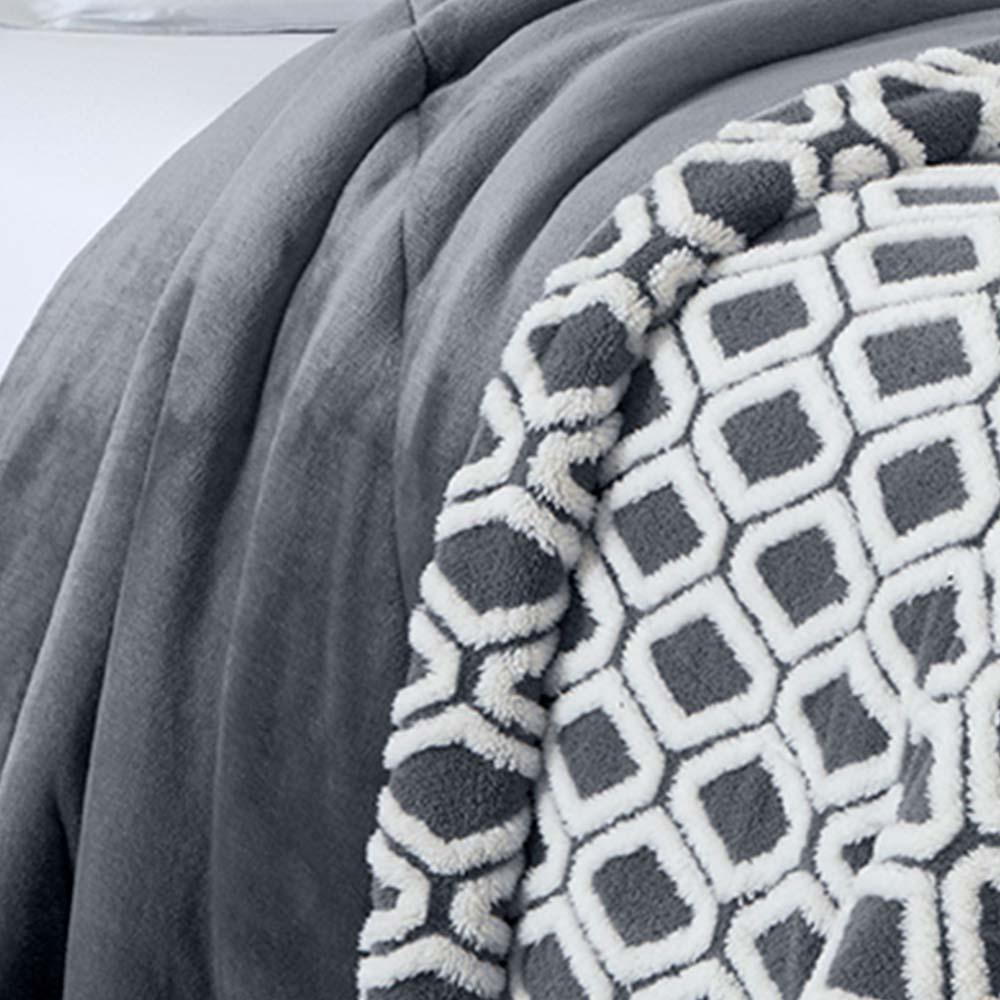 Edredom Corttex Queen Home Design Islandia Ravi Chumbo