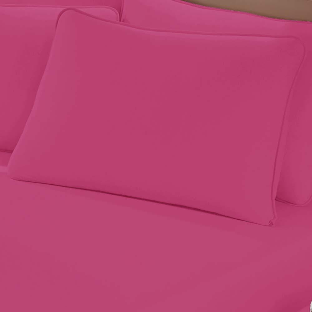Fronha Avulsa Buettner Malha 200 Art Premium Hot Pink