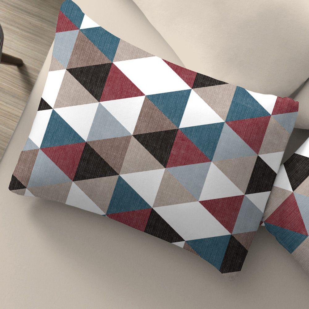 Fronha Avulsa Estampada Portallar Metálico Color