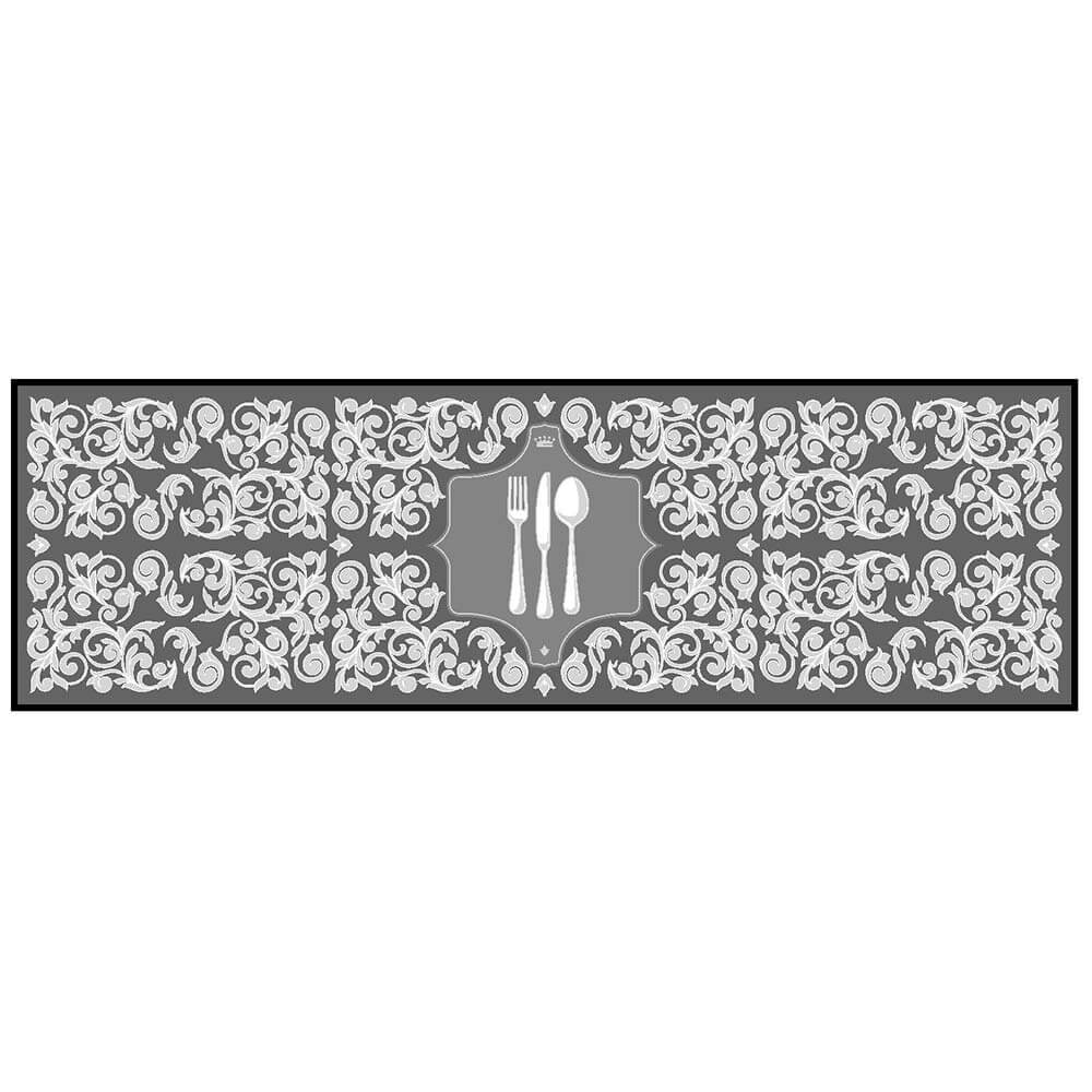 Kit Tapete de Cozinha Kacyumara 2 peças Decore Posat