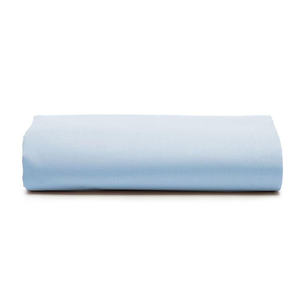 Lençol Avulso Casal Santista com Elástico Royal Azul