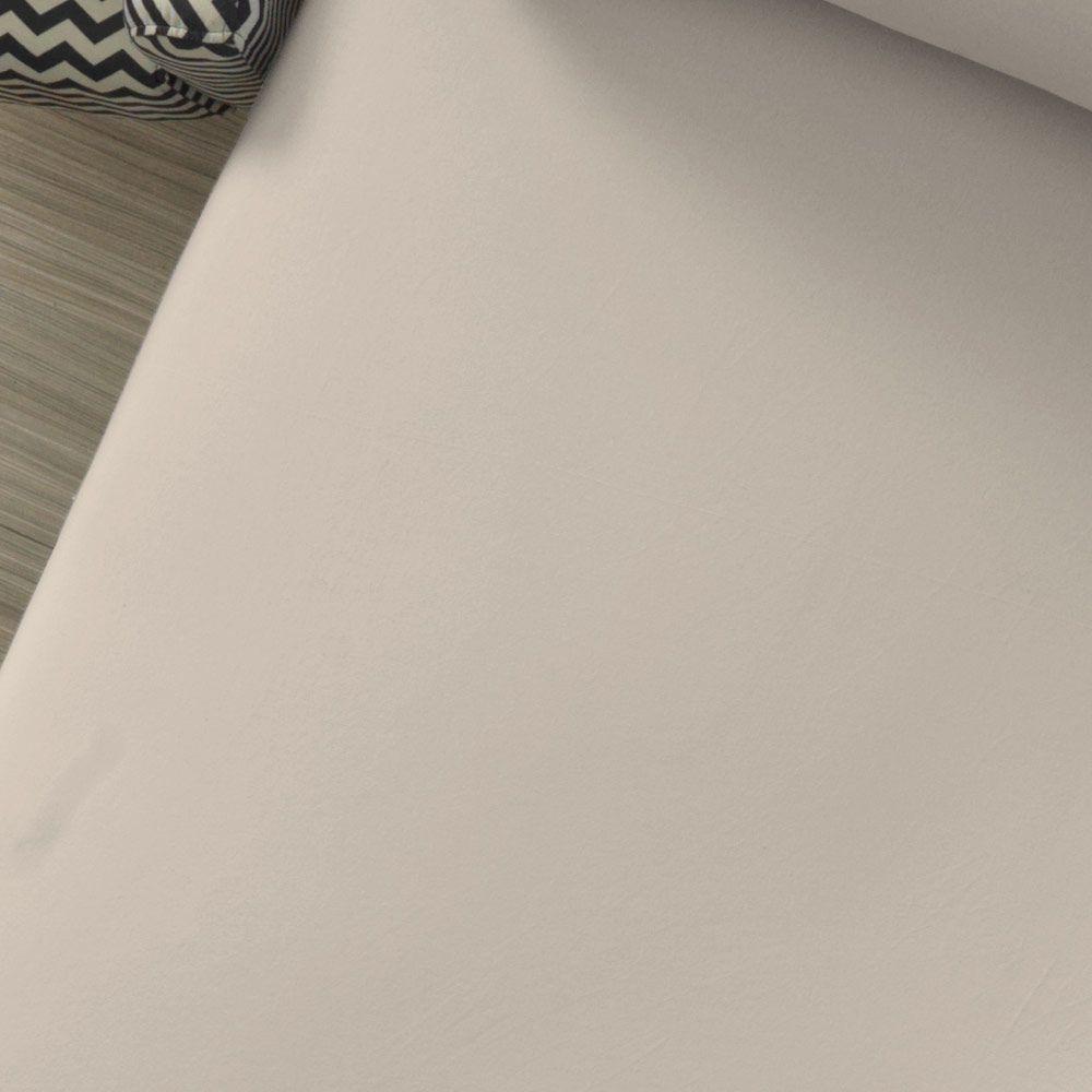 Lençol Avulso com Elástico Liso Portallar Casal Palha