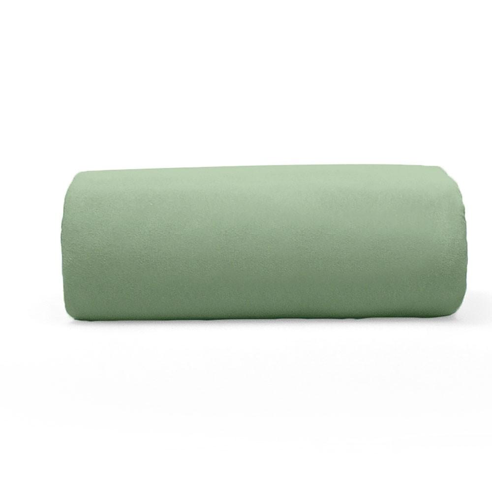 Lençol Avulso Queen Buettner com Elástico Malha 200 Art Premium Verde Orvalho