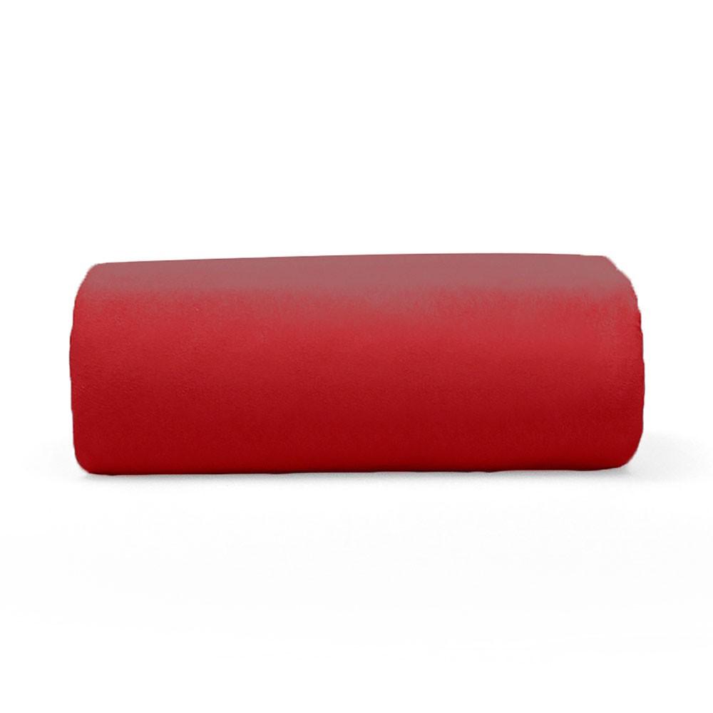 Lençol Avulso Queen Buettner com Elástico Malha 200 Art Premium Vermelho