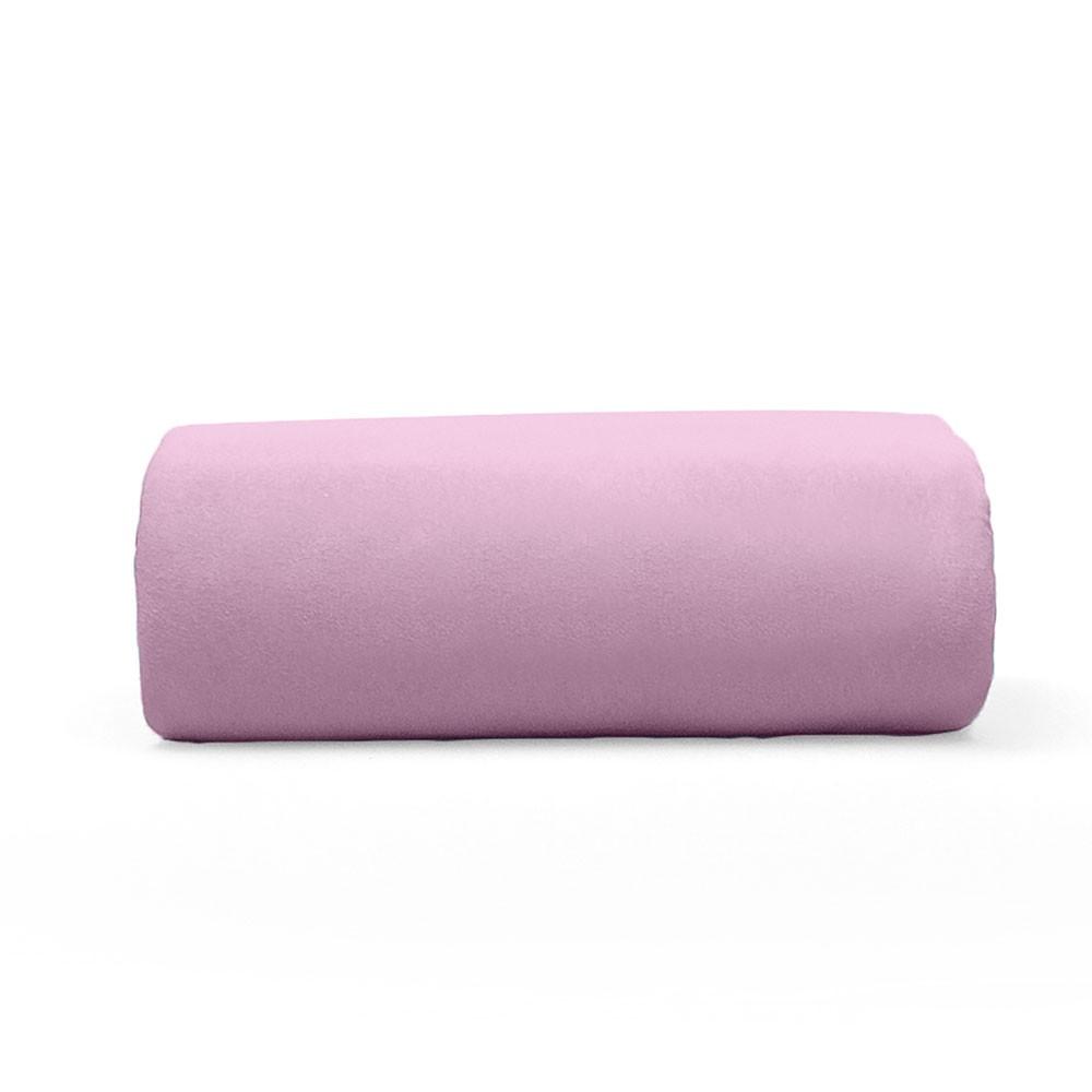 Lençol Avulso Solteiro Buettner com Elástico Malha 200 Art Premium Rosa Bela