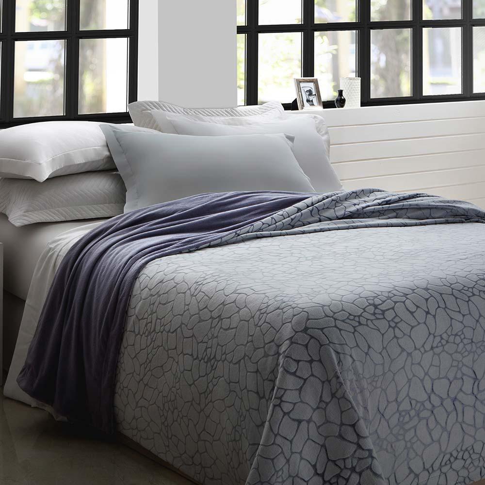 Manta Corttex Casal Home Design Quartz Lavanda