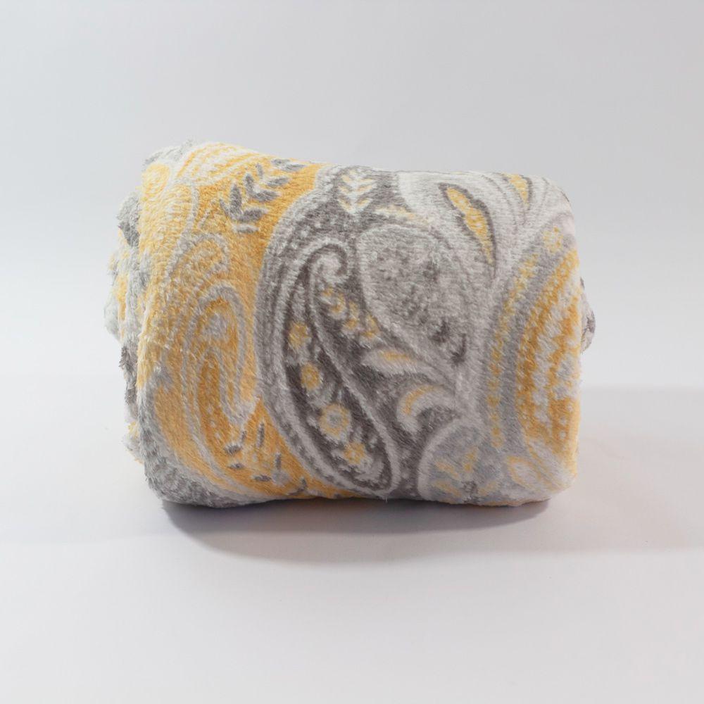 Manta Microfibra Sultan 1,75m x 1,95m - Lourdes
