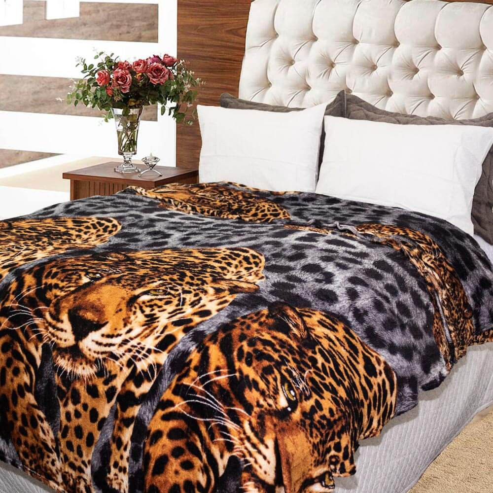 Manta Sultan 180cmx200cm Animal Print