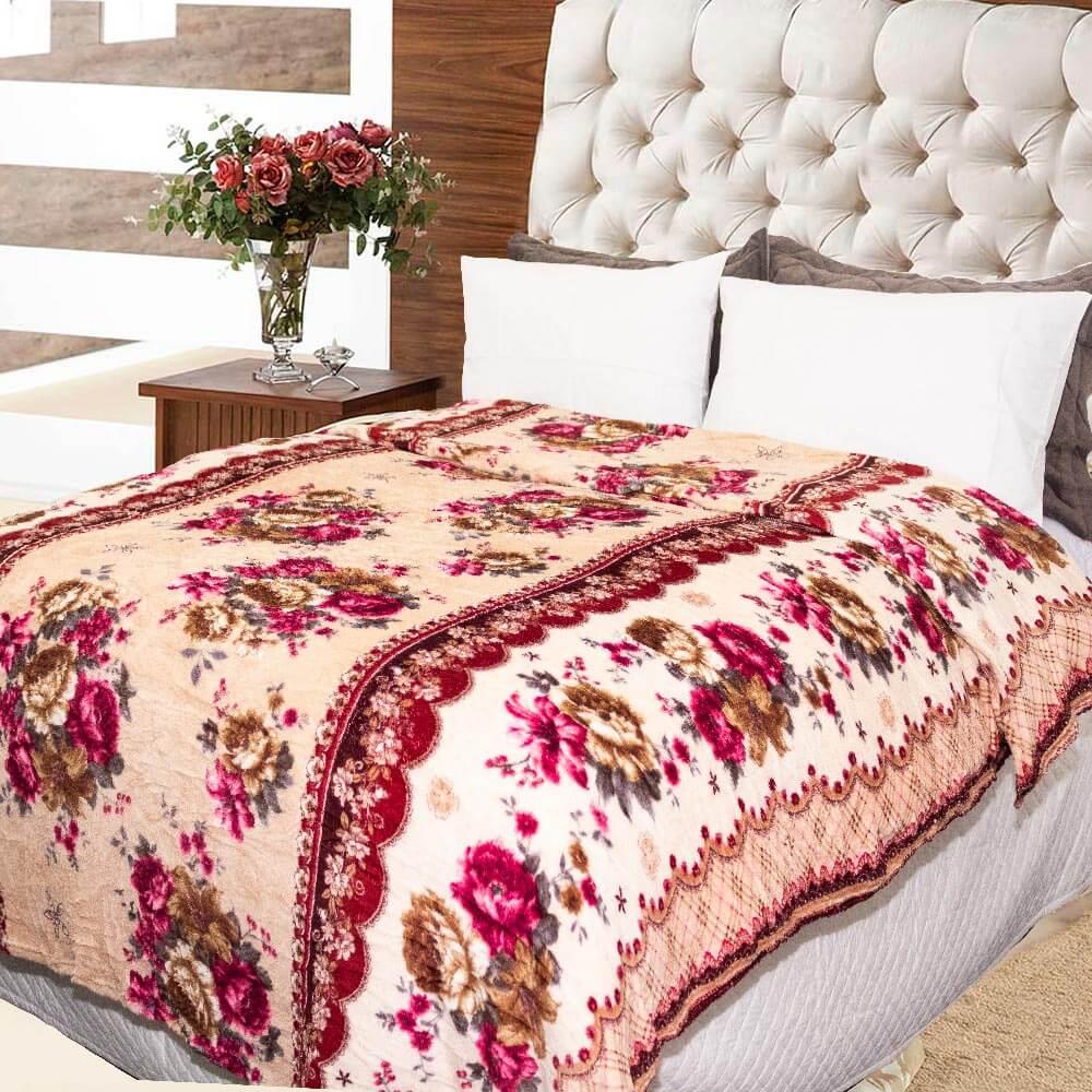Manta Sultan 180cmx200cm Floral Arabesco