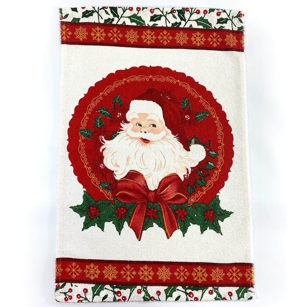 Pano de Copa Lepper Natal Guirlanda do Noel