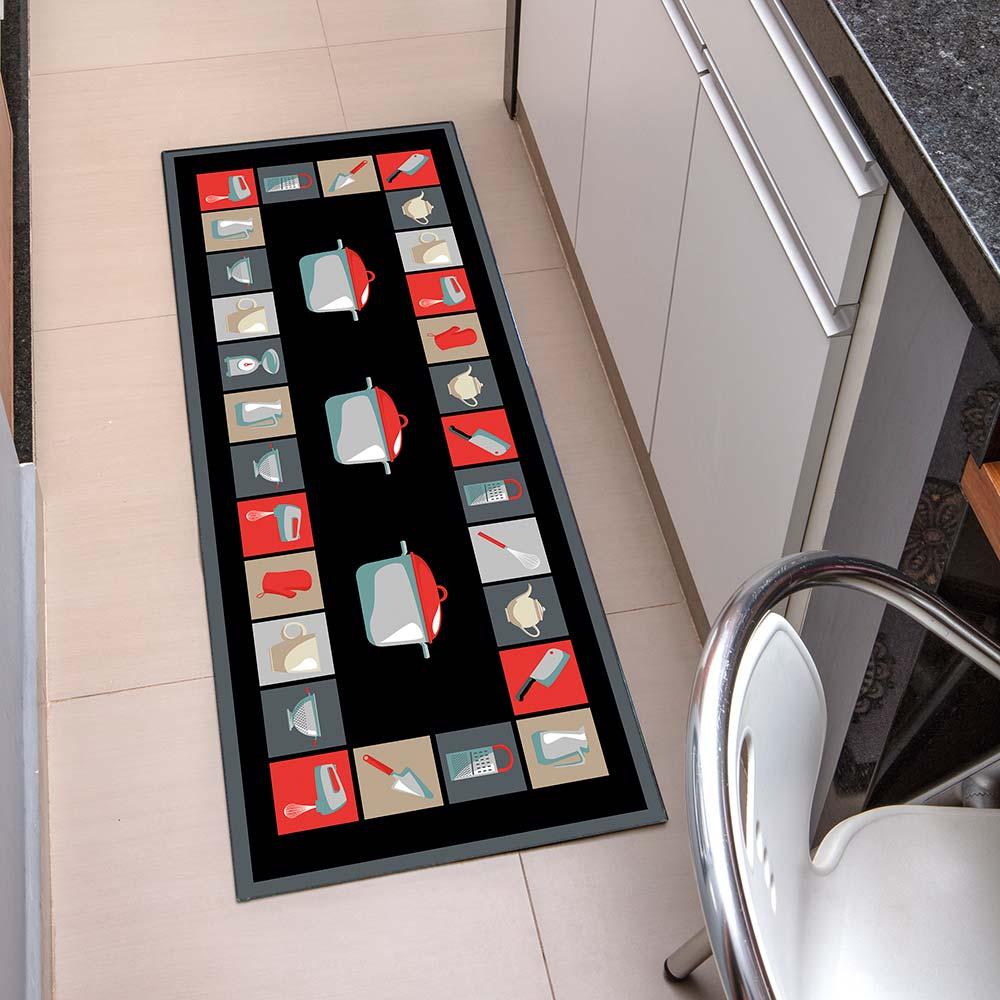 Passadeira de Cozinha Kacyumara 45x120cm Decore Cozinha