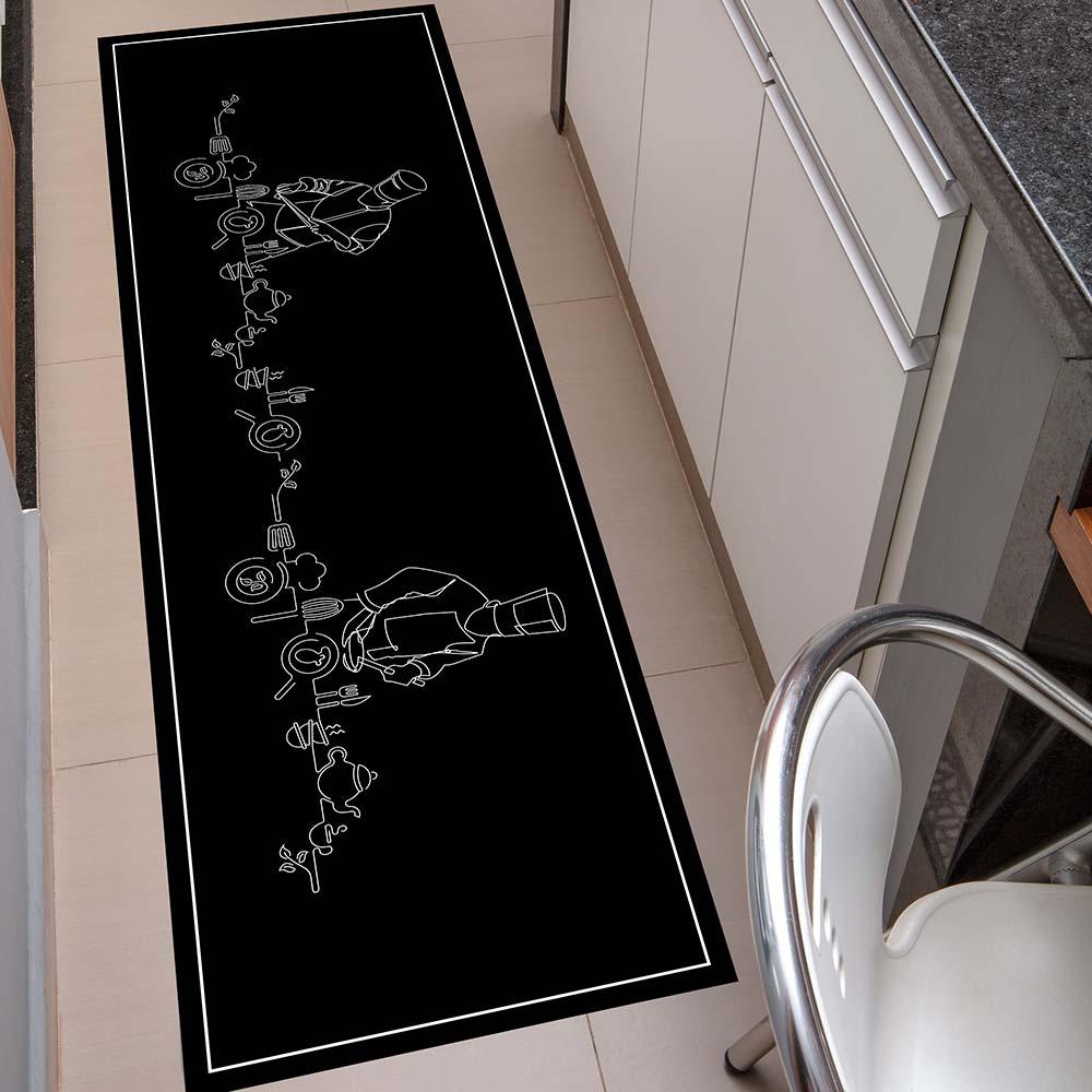 Passadeira de Cozinha Kacyumara 50x160cm Decore Gourmet