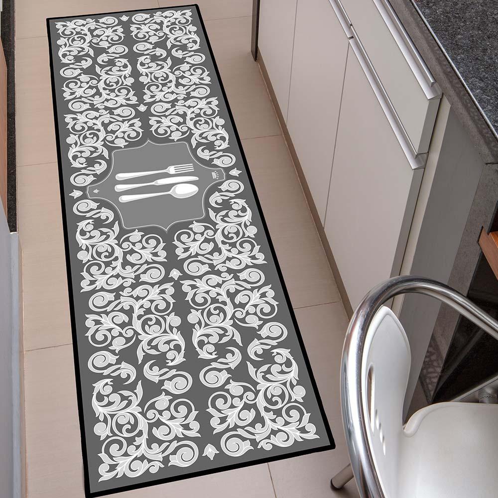 Passadeira de Cozinha Kacyumara 50x160cm Decore Posat