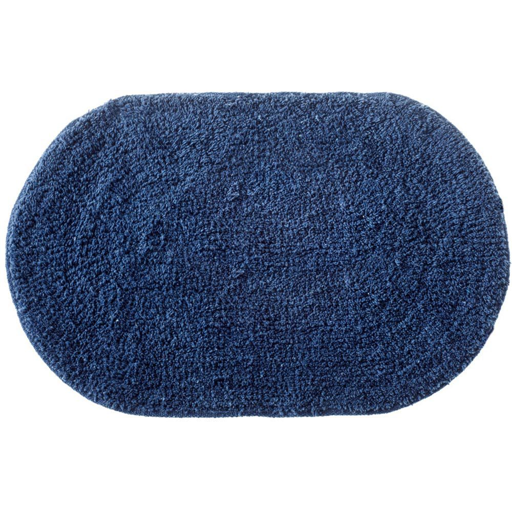 Tapete Corttex Attuale Victória Oval Azul