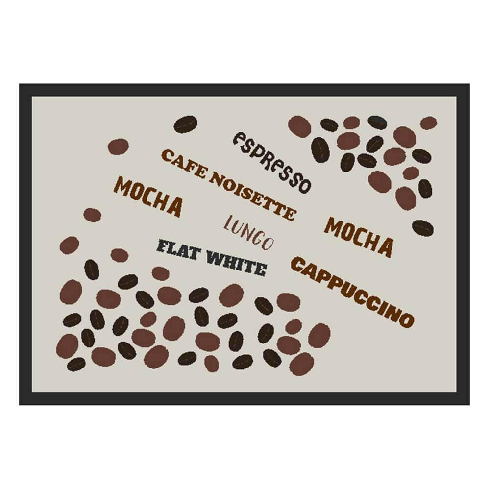 Tapete de Cozinha Kacyumara 50x70cm Decore Café Joo