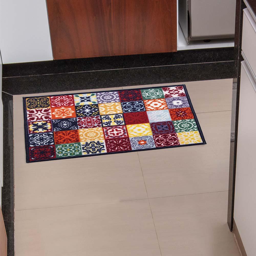 Tapete de Cozinha Kacyumara 50x70cm Decore Ladrilho