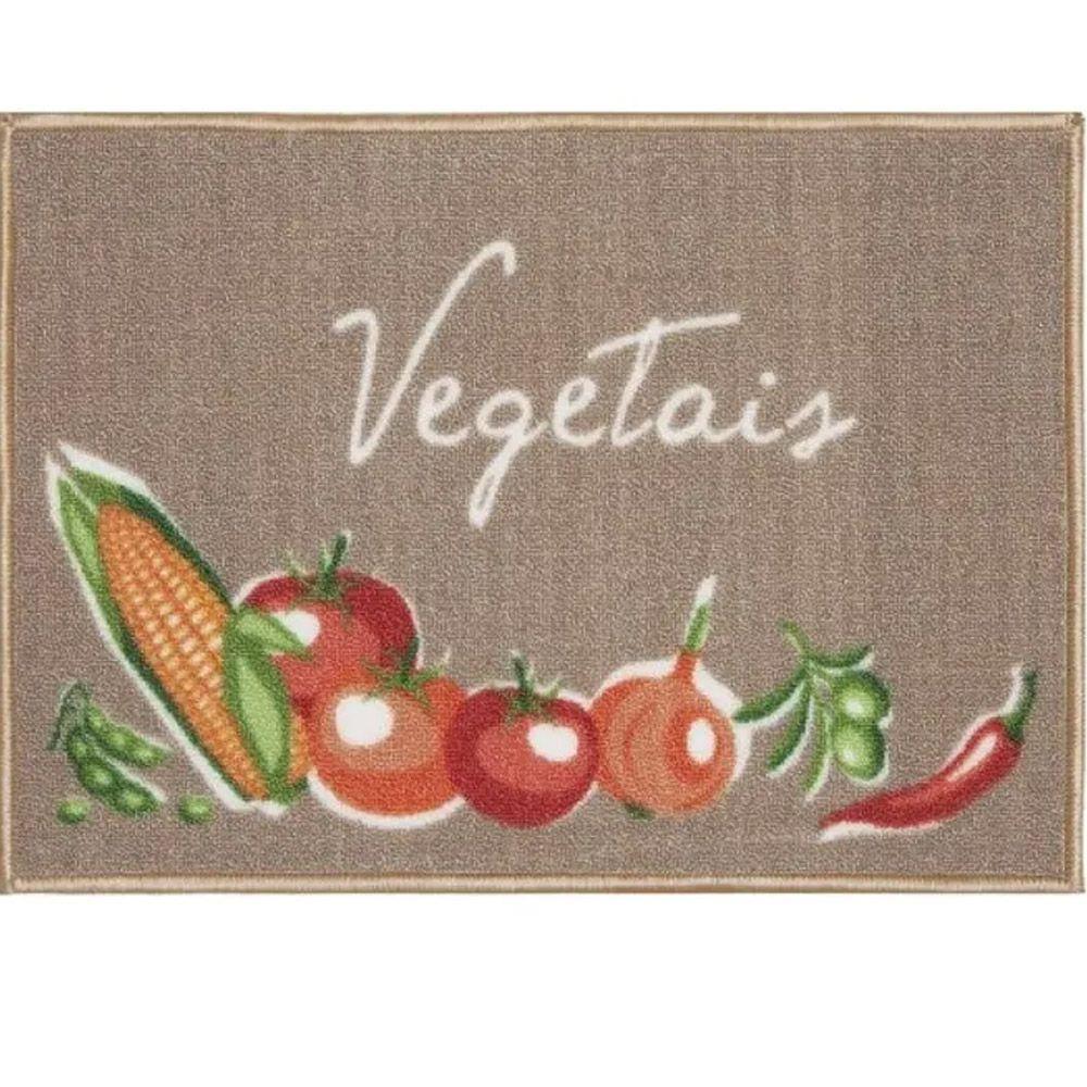 Tapete de Cozinha Kacyumara Decore Vegetais