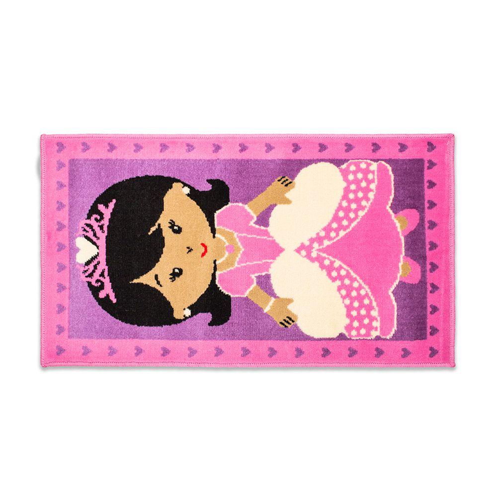 Tapete Funny & Teens Infantil Princess 57x100cm