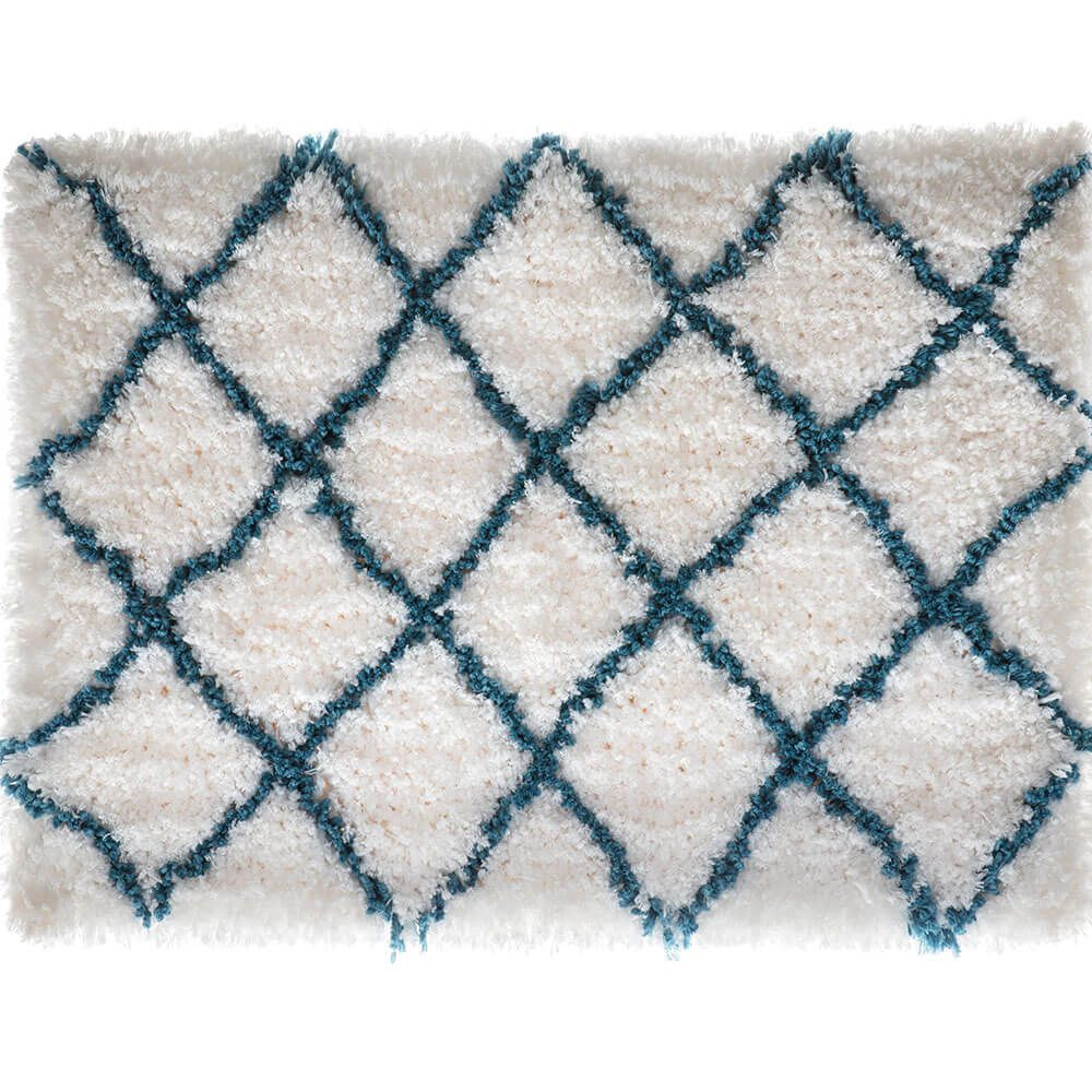 Tapete para Banheiro Corttex Home Design Descanso Azul Adriático