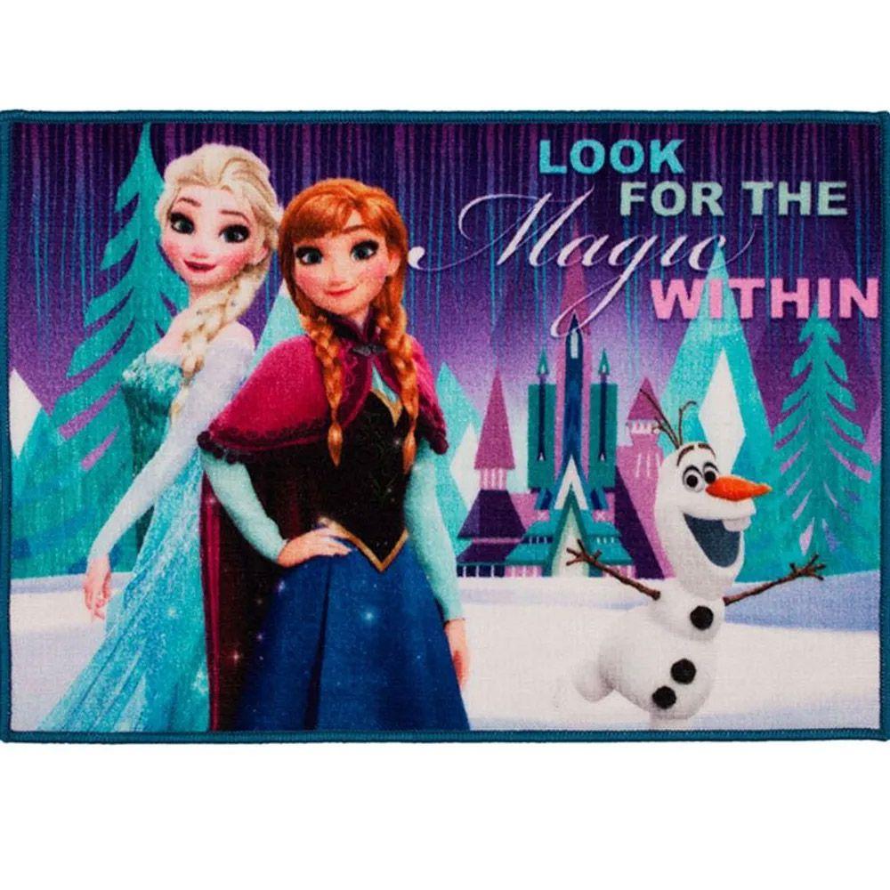 Tapete para Quarto Corttex Disney Frozen 70cm x 50cm