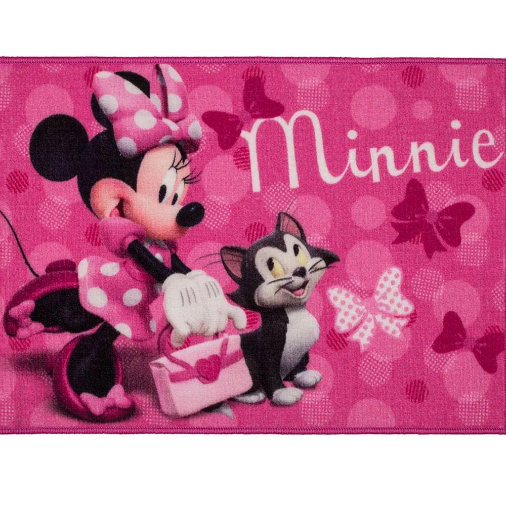 Tapete para Quarto Corttex Disney Minnie 70cm x 50cm