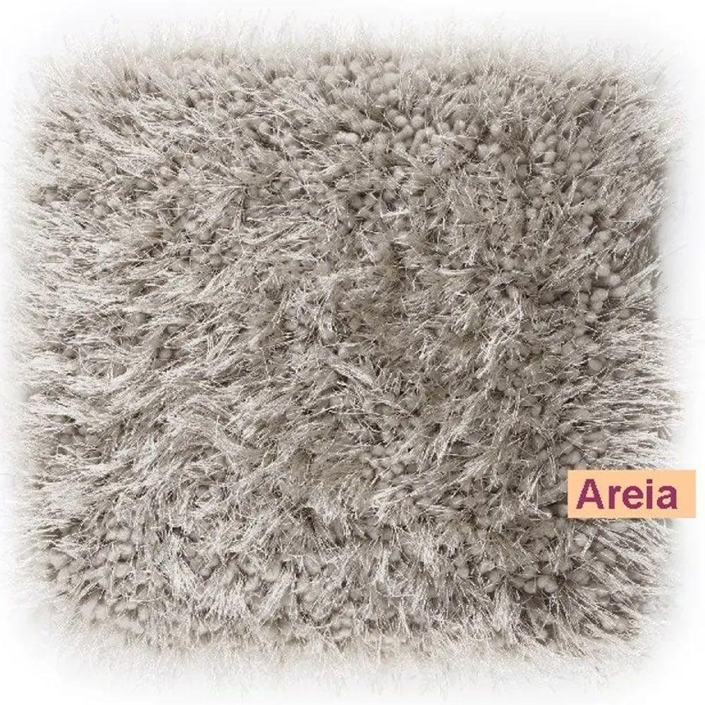 Tapete para Quarto Corttex Parvati Areia 100x150cm