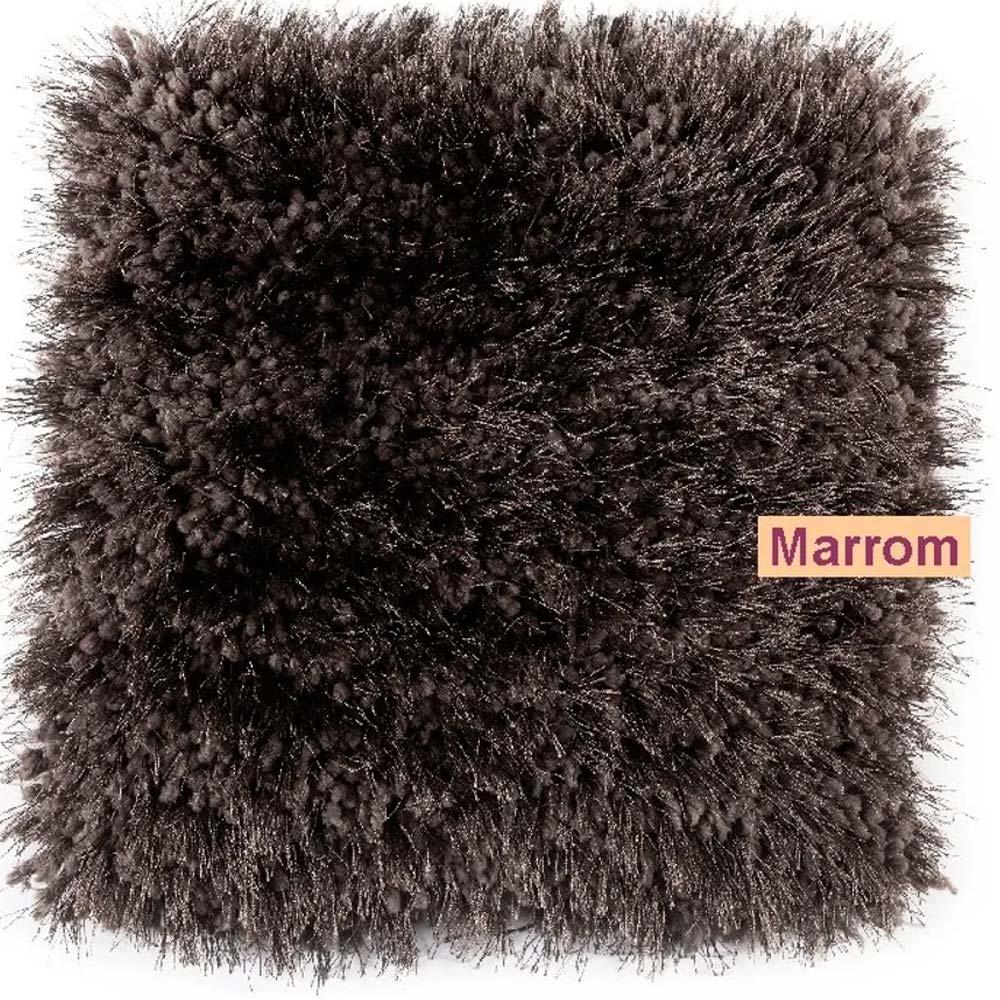 Tapete para Quarto Corttex Parvati Marrom 100x150cm