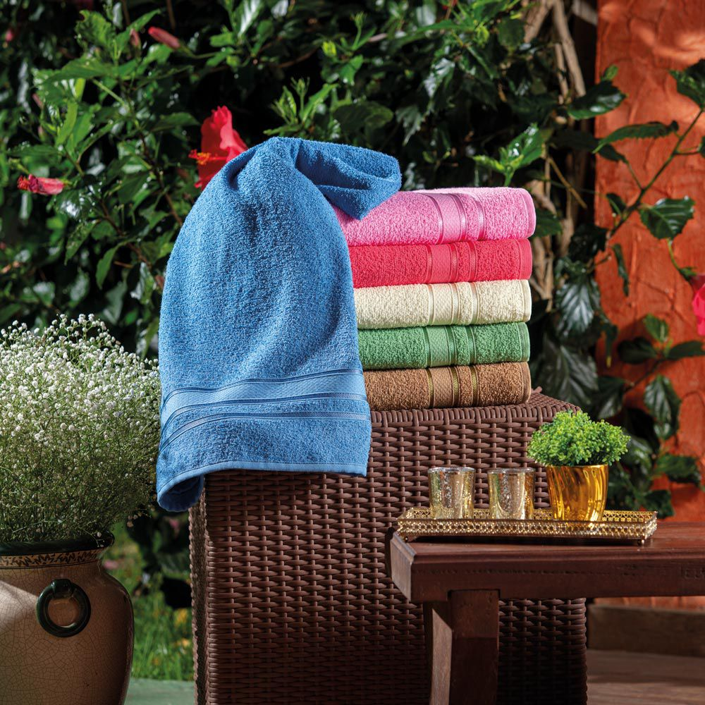Toalha de Banho Appel Dhara - Rosa