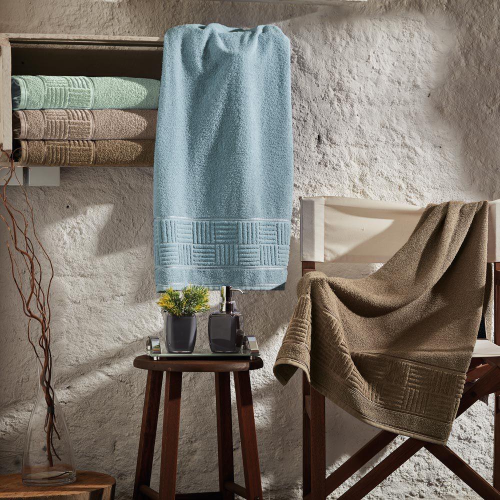 Toalha de Banho Appel Dublin - Azul Claro