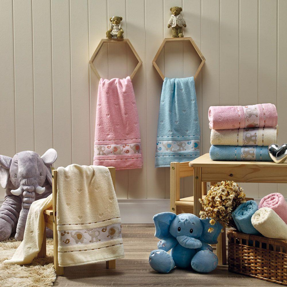 Toalha de Banho Appel Soft Baby - Azul Céu