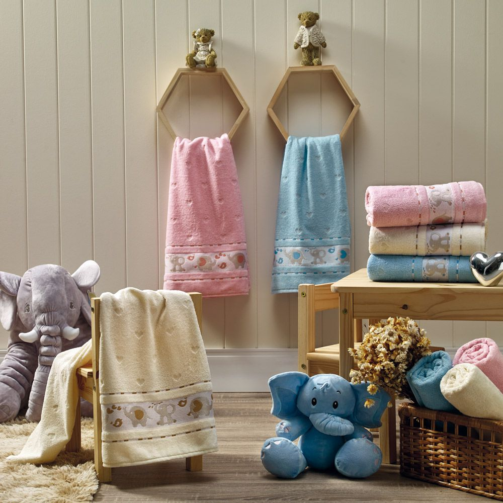 Toalha de Banho Appel Soft Baby - Rosa Cintilante