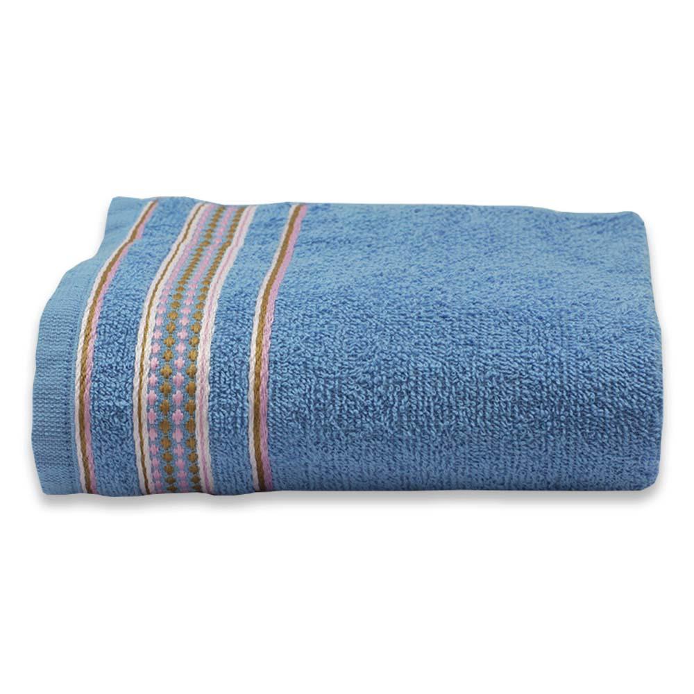 Toalha de Banho Lm Peter 75cmx120cm Criativa - Azul