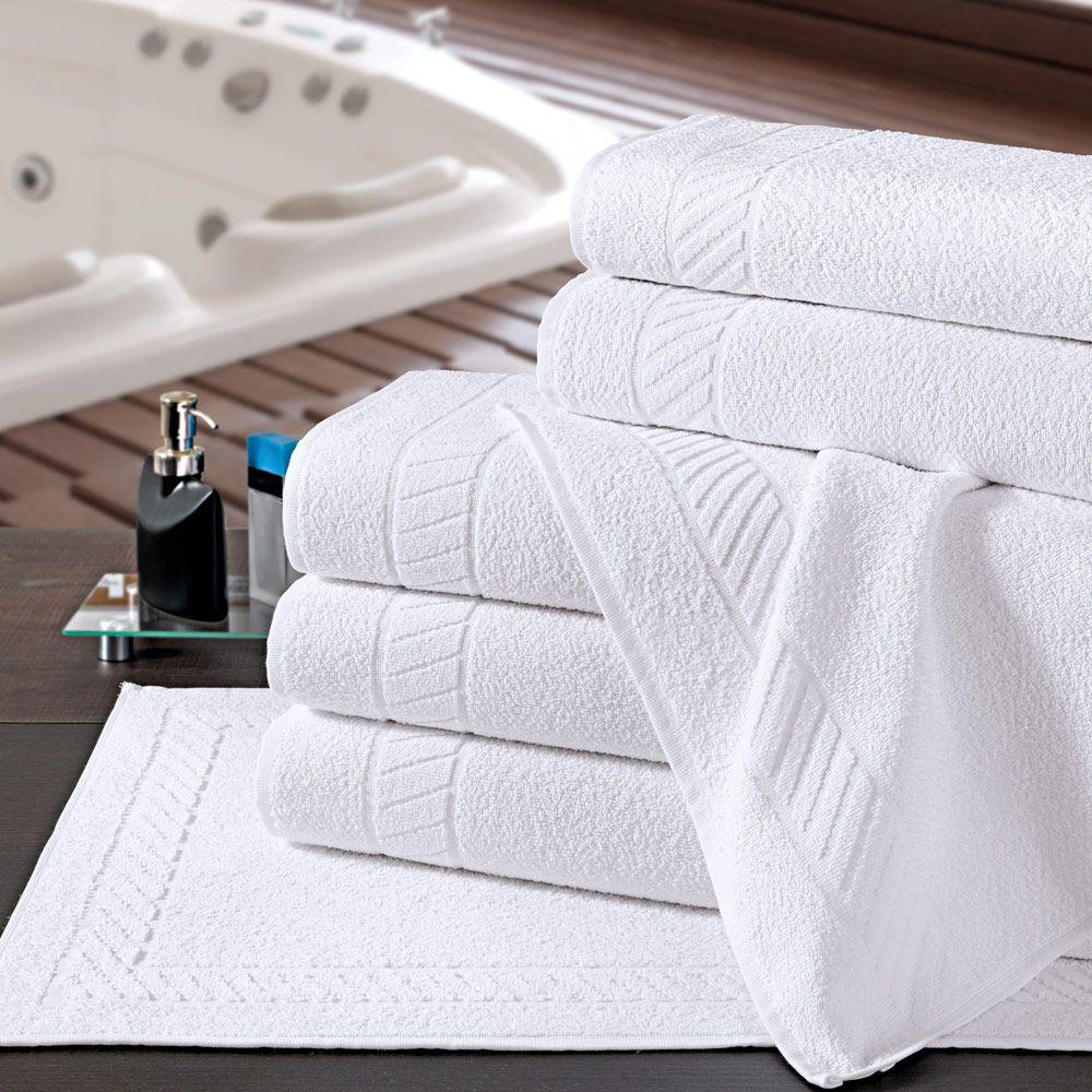Toalha de Banho para Hotel Linha Premium 80cm x 150cm - 500g/m2