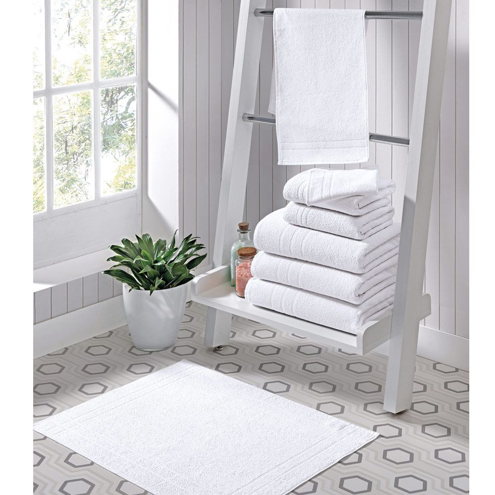 Toalha de Banho para Hotel Linha Silver 70cm x 140cm - 380g/m2