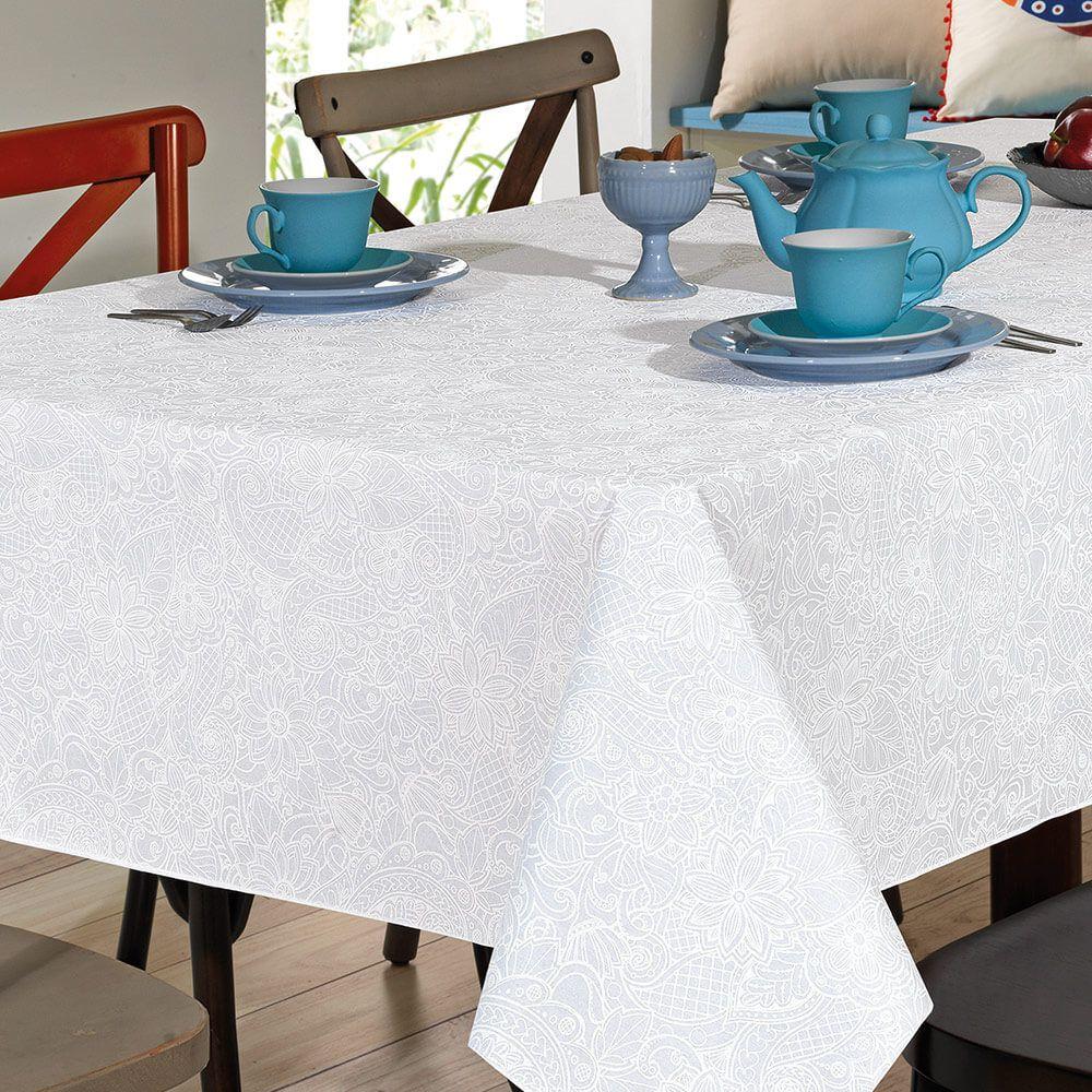 Toalha de Mesa Dohler Quadrada 4 Lugares Dohler Clean Edite