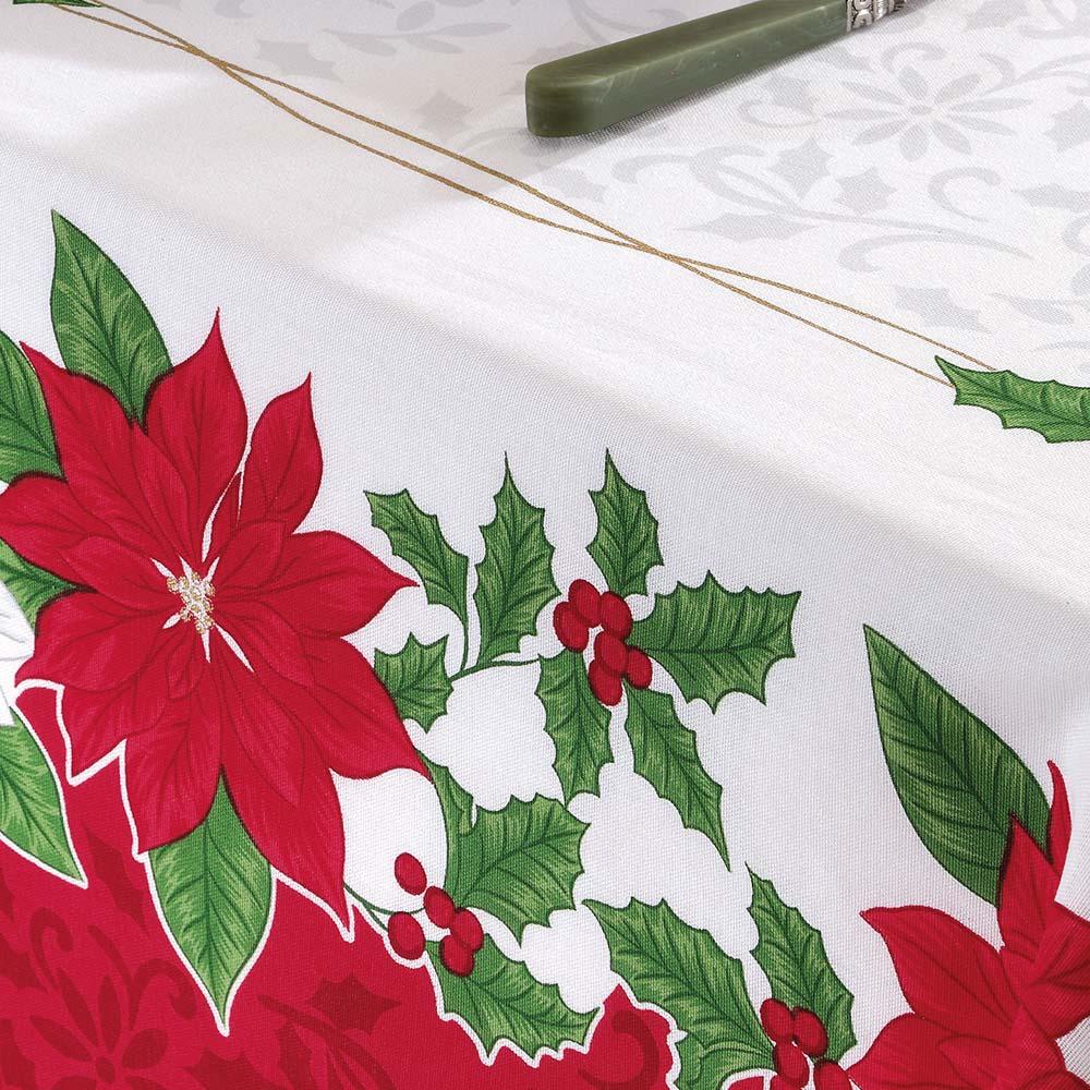 Toalha de Mesa Dohler Quadrada 4 lugares Genebra Natal 84