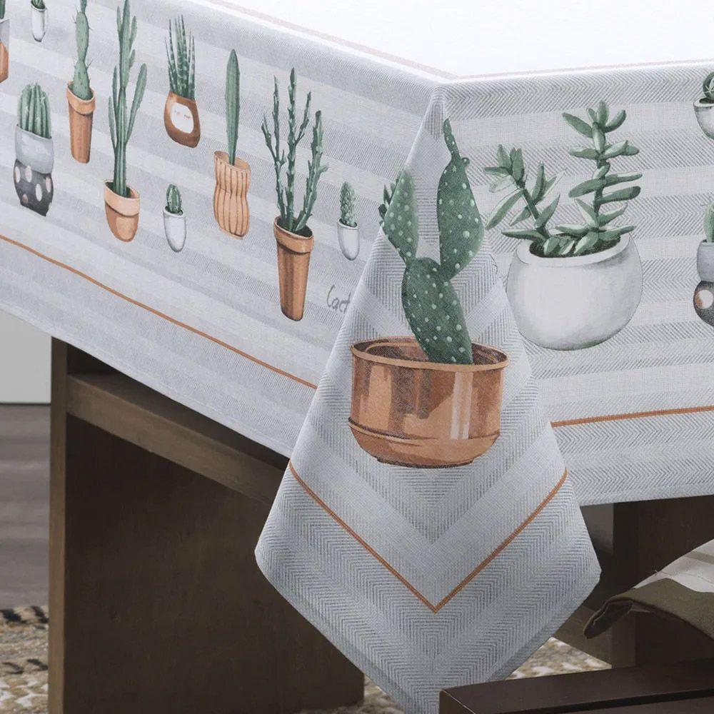 Toalha de Mesa Karsten Redonda 4 Lugares Cada Dia Poppy