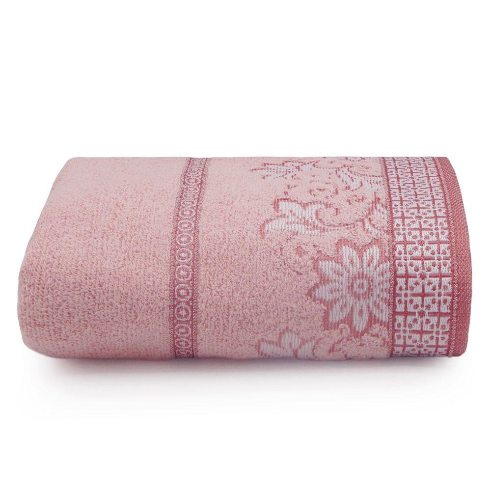 Toalha de Rosto Appel Di Fiori - Rosa Quartzo