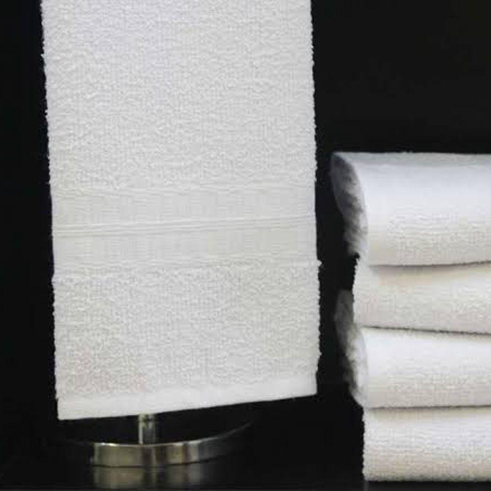 Toalha de Rosto Branca Profissional Bruns 40cm x 70cm - 290g/m2