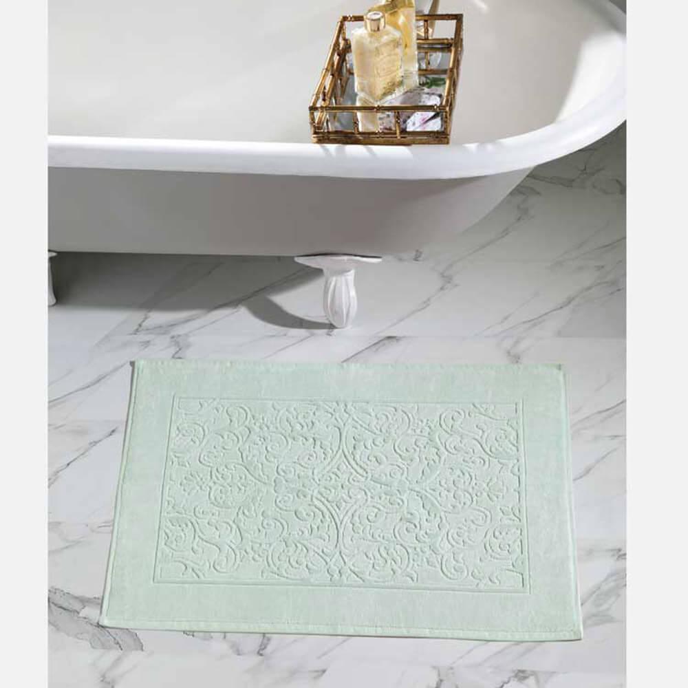 Toalha para Pés Dohler Felpudo Jacquard Confort FJ-6408 Verde