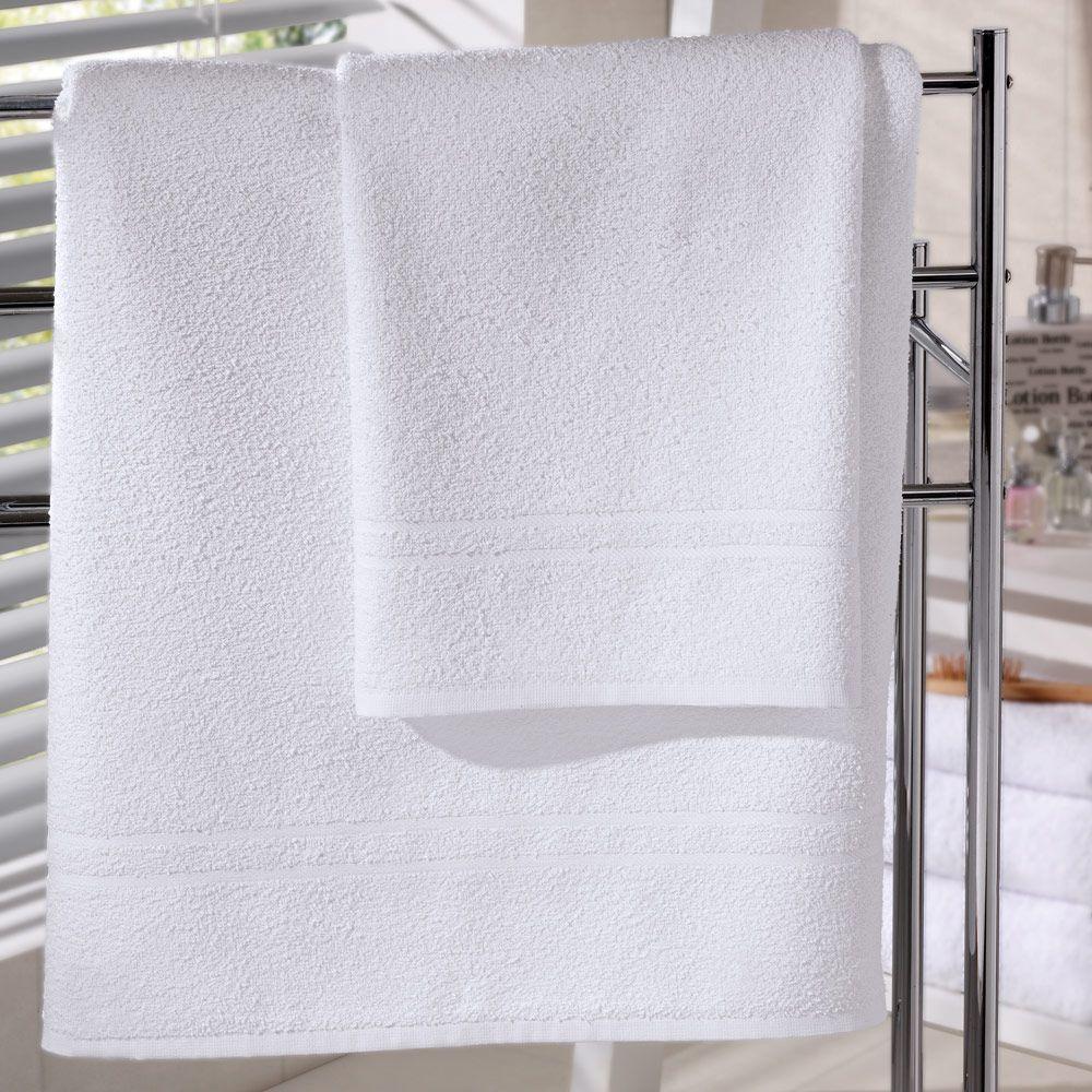Toalha para Piso de Hotel Linha Basic 50cm x 70cm - 350g/m2
