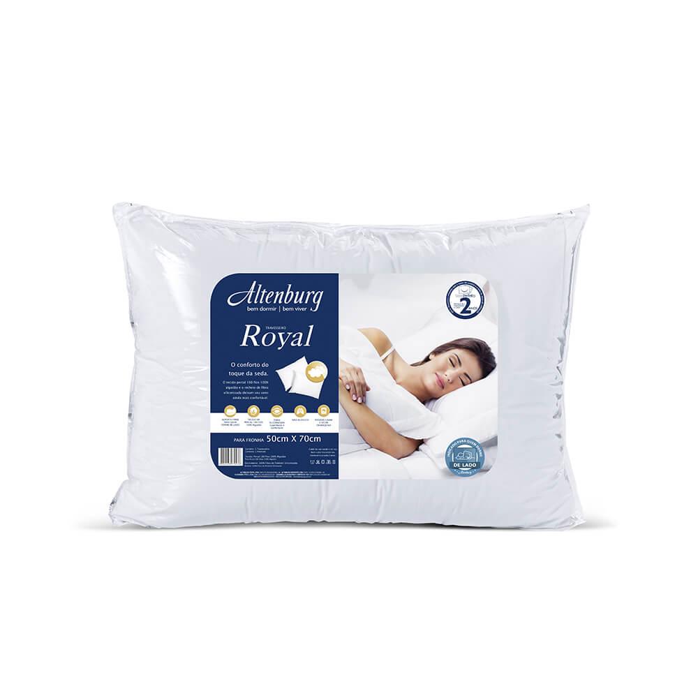 Travesseiro Altenburg Percal 180 Fios Royal