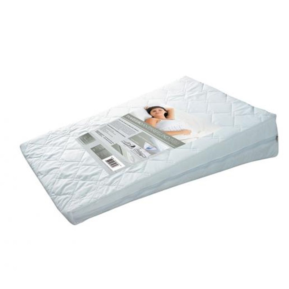 Travesseiro Fibrasca Anti Refluso Adulto 60x83x15cm para Capa Protetora em Percal