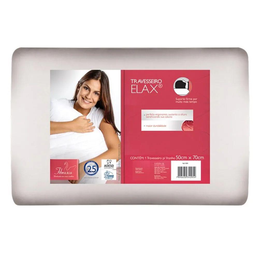 Travesseiro Fibrasca Elax Plus 50cmx70cm