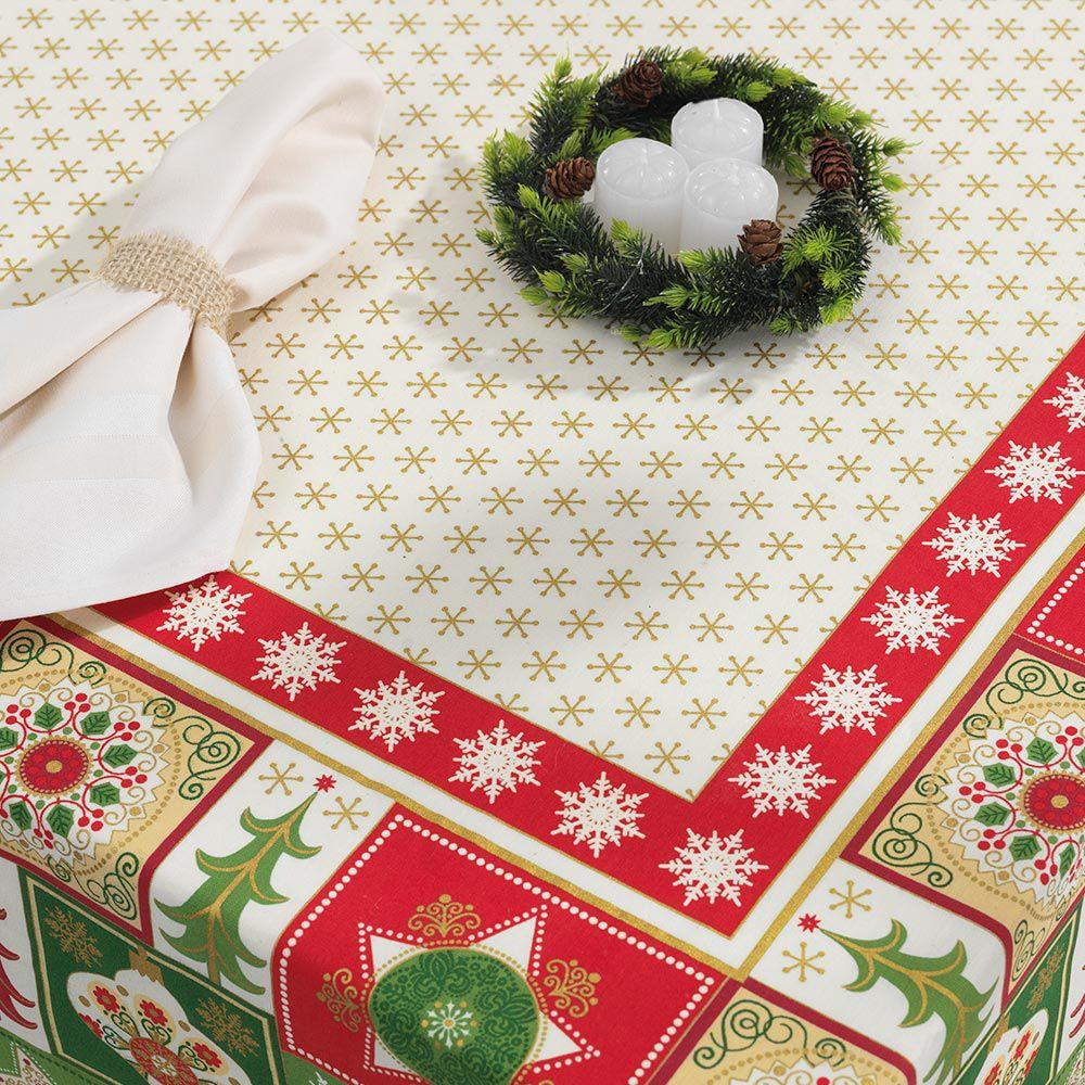 Trilho de Mesa Karsten 30x100cm Natal Tempo de Celebrar