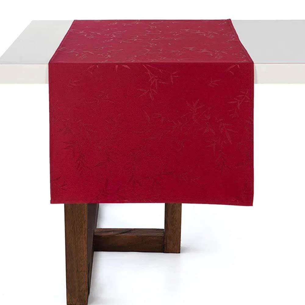 Trilho de Mesa Karsten 50x160cm Celebration Verissimo Vermelho