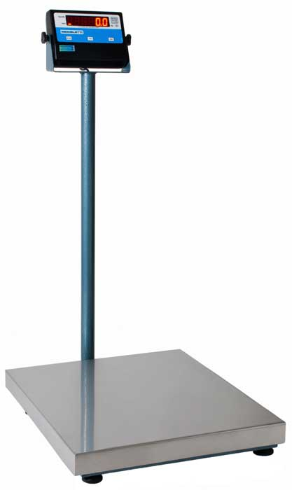 BALANÇA ELETRÔNICA INOX - 100kg - COM.COLUNA - MICHELETTI