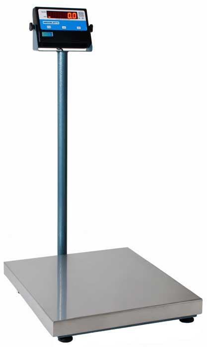 BALANÇA ELETRÔNICA INOX - 300kg - COM.COLUNA - MICHELETTI