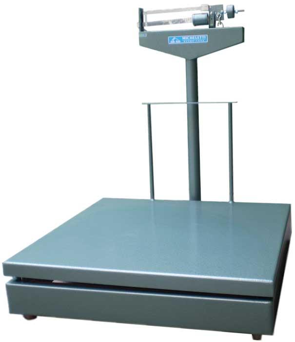 BALANÇA MECÂNICA 1.500kg - Plat. 80 x1,20