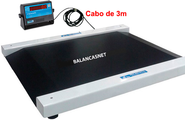 BALANÇA CADEIRANTE C/ REBAIXO - 0,80 x 0,89 - 4Células - MICHELETTI